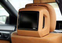 telewizor w samochodzie